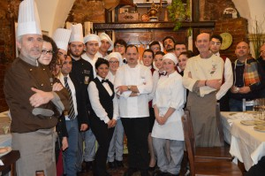 """Laboratorio del Gusto """"Terra Matta"""", Consorzio Chiaramonte: """"Una serata di grande successo con lo chef stellato Candiano e il maiale nero degli Iblei"""""""