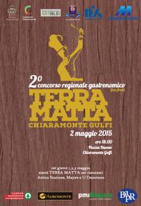 Sabato 2 maggio 2015 a Chiaramonte Gulfi la finale del Concorso regionale gastronomico Terra Matta – Aspettando Expo 2015