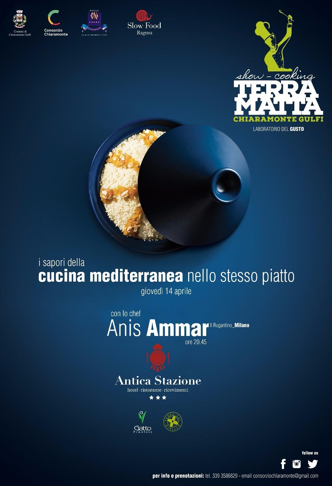 I sapori della cucina mediterranea nello stesso piatto. Giovedì 14 aprile 2016 a Chiaramonte Gulfi il primo appuntamento del Laboratorio del Gusto Terra Matta