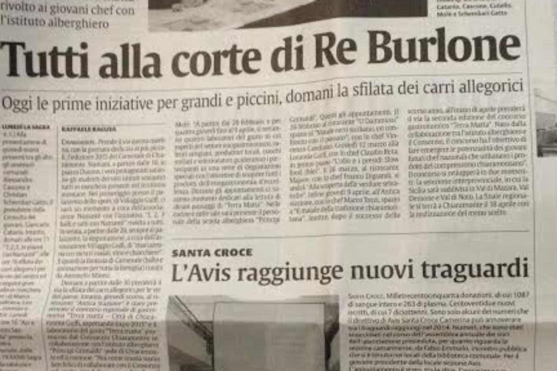 La Sicilia – Tutti alla corte di Re Burlone