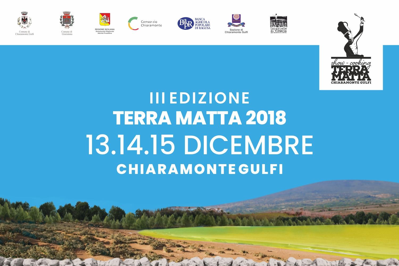 Lunedì 19 novembre 2018 a Chiaramonte Gulfi la conferenza stampa di presentazione della manifestazione 'Terra Matta 2018'